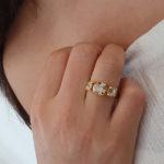 טבעת גרניום שמפניה