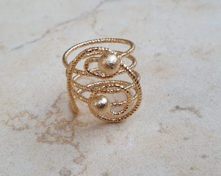 טבעת מילאנו זהב