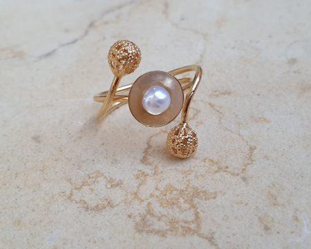 טבעת דקל זהב