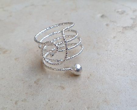 טבעת מילאנו כסף
