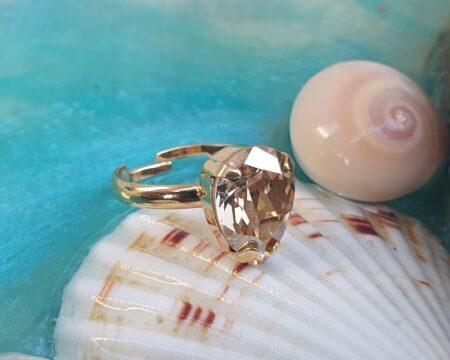 טבעת גרניום טיפה